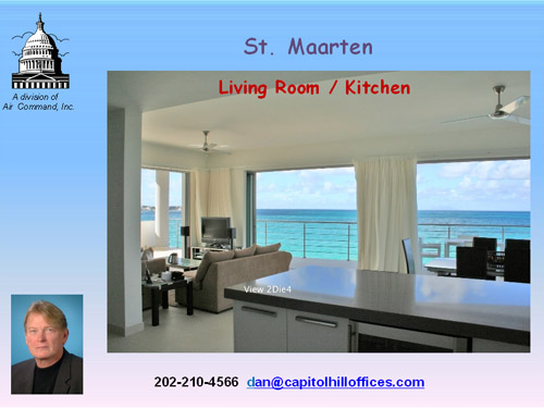 St Maarten Living room