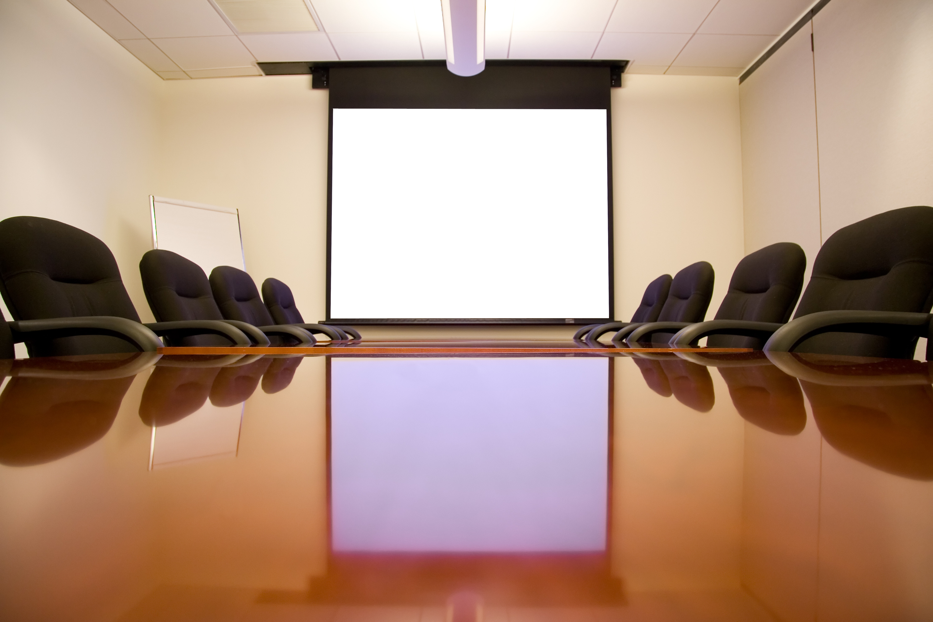 Meeting Room with Screen | Capitol Hill Offices