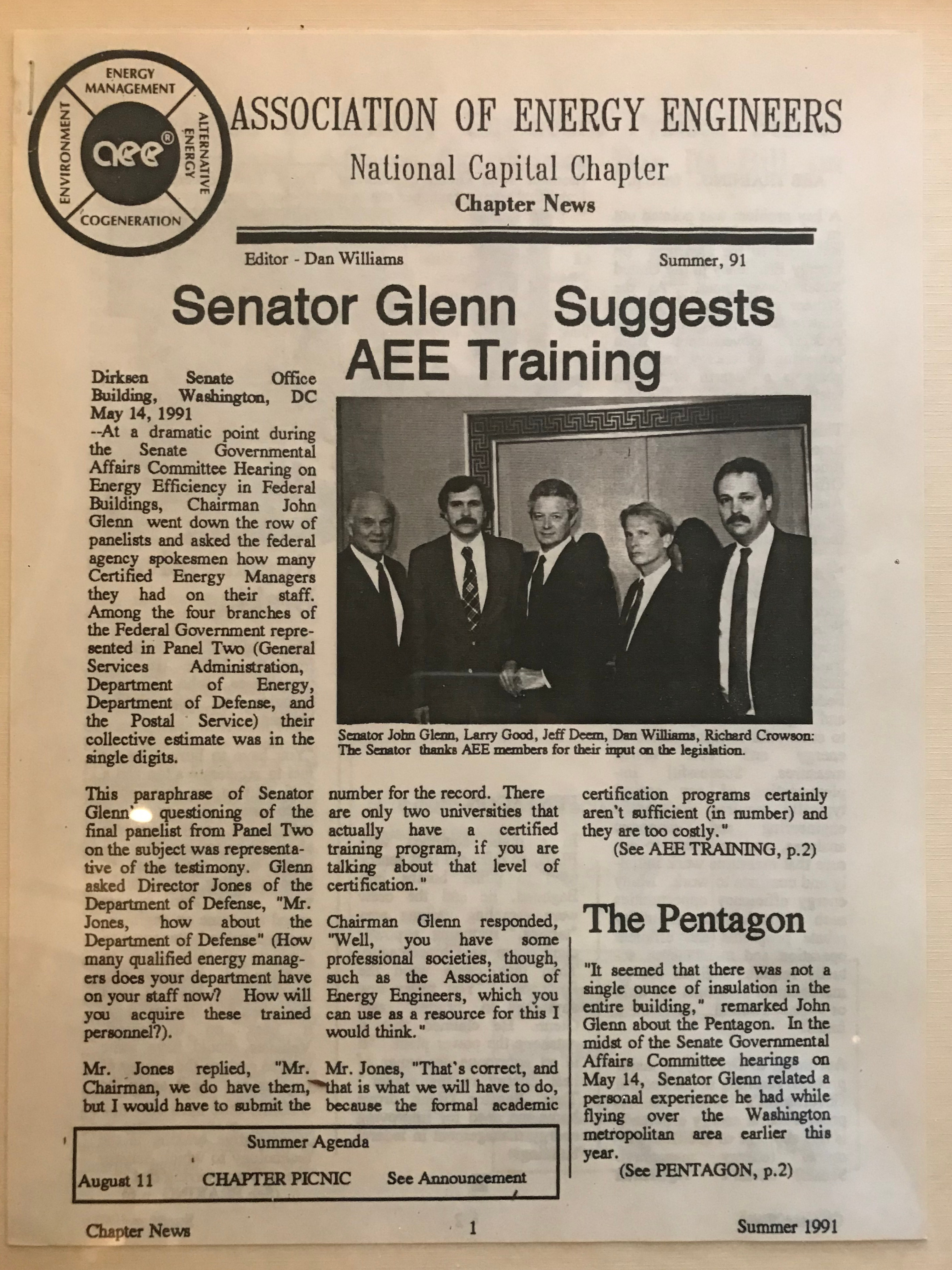 AEE Newsletter Summer 91