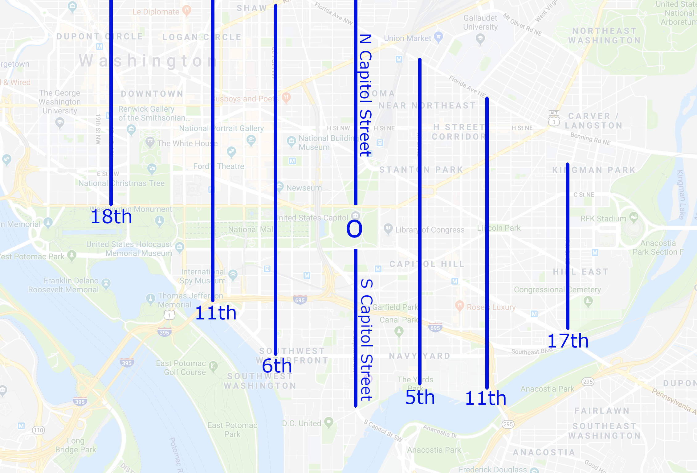 navigating dc – 2   Capitol Hill Offices